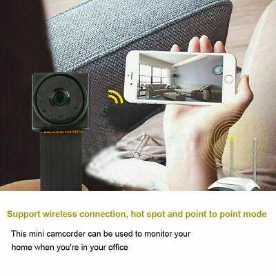 1080P 4K HD Mini Camera Wireless WIFI IP Pinhole Home Security Micro DVR Module