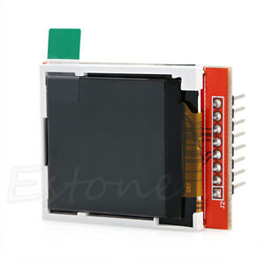 1pc-New-1-44-034-Red-Serial-LCD-Display-Module-128-128-TFT-Color-Screen-PCB-Adapter
