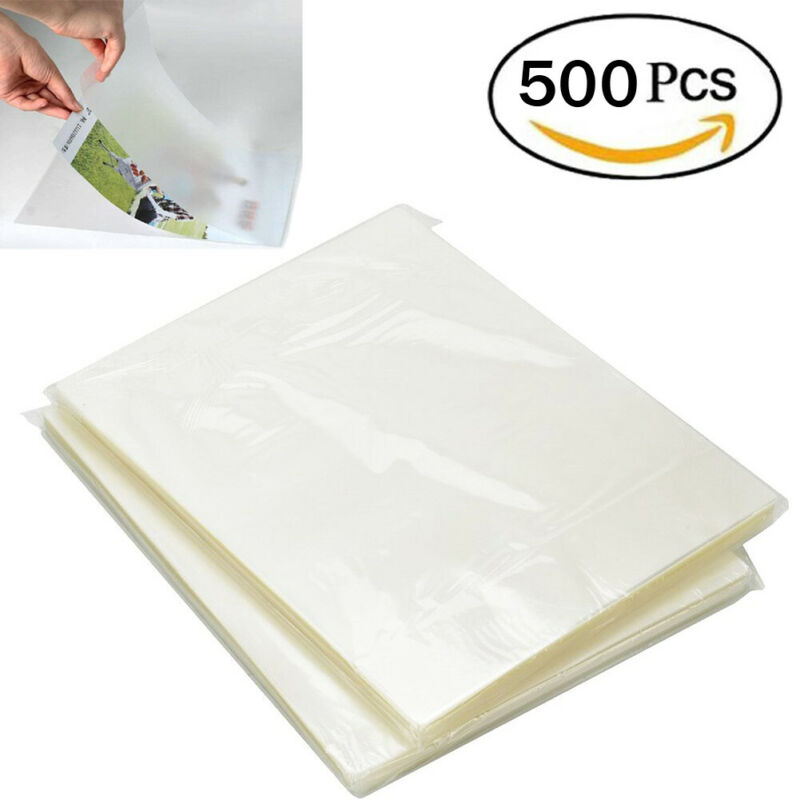 500 Pack 3 Mil 9x11.5 Thermal Laminating Pouches Letter Size Heat Seal A4 Sheets