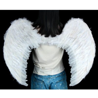 Christmas EXTRA LARGE White Feather Angel Wing Photo Prop adult Women