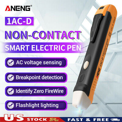Aneng 1ac-d Non-contact Test Pen Electric Indicator 90-1000v Induction Test Pen