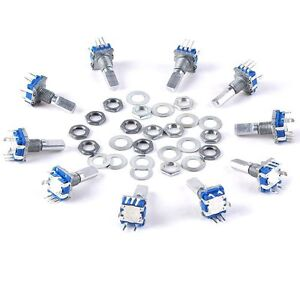 10pcs*Digital Rotary Encoder Push Button Switch Keyswitch Electronic Components