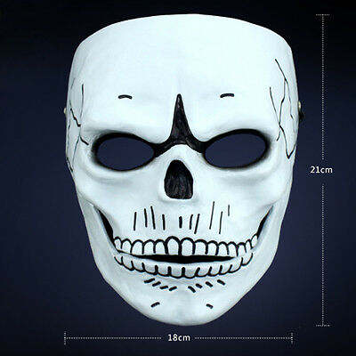 Halloween Cosplay Cos Props James Bond 007 Spectre Mens FRP Skull Props - James Bond Halloween Costume Spectre
