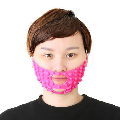 Silicone Face V-line Lift Firming Slimming Massage Mask Bandage Beauty Tools Health & Beauty