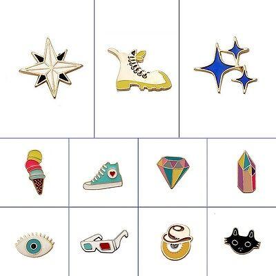 Kreative Mode (Mode Kreative Schöne Enamel Brosche Halsband Pin Corsage Cartoon Schmuck Brooch)