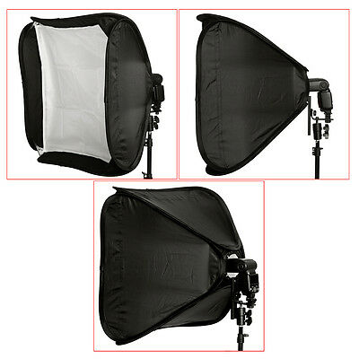"Neewer 24""x24"" Portable Pro Off-Camera Flash Photography Studio Softbox Kit"