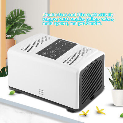 Air Purifier Cleaner Remove Smoke Removal Ionic Ionizer Home Office Freshener