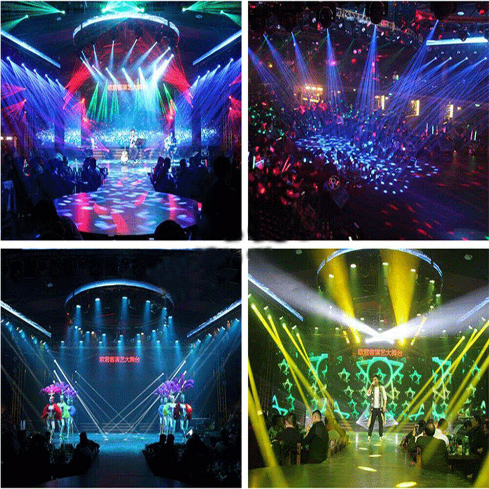 7R Sharpy 230W Moving Head Beam Light 16 8 Prism 6 Glass Gobos DJ Stage Lighting - $334.99