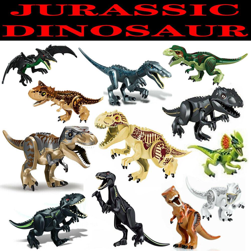 Dinosaurier Spielzeug Tyrannosaurus Rex Jurassic World Dinosaurs Dinos Bausteine