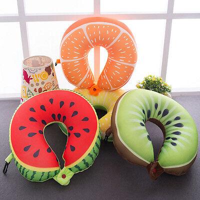 Schiuma U A Forma Di Cartone Fruit Cuscino Da Viaggio Cuscino Supporto Collo