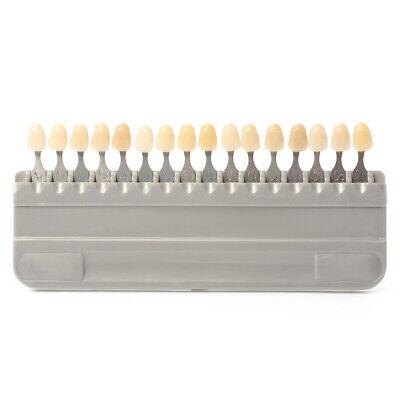 New A1- D4 16 Colors Durable Porcelain Teeth Dental Materials Vita Shade Guide