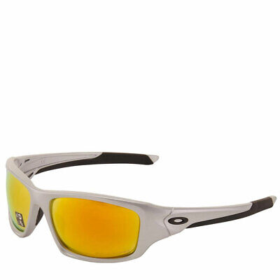 [OO9236-07] Mens Oakley Valve Sunglasses - Silver / Fire Iridium Polarized