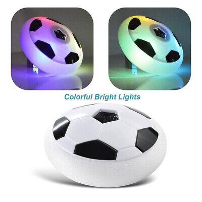 Creative Football Air Power Hover Ball Soccer Disk With Led Ball Light Up Boys