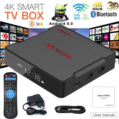 Magicsee N5 NOVA Android9.0 TV Box RK3318 2.4G/5G 2Go/16Go 4K Lecteur multimédia