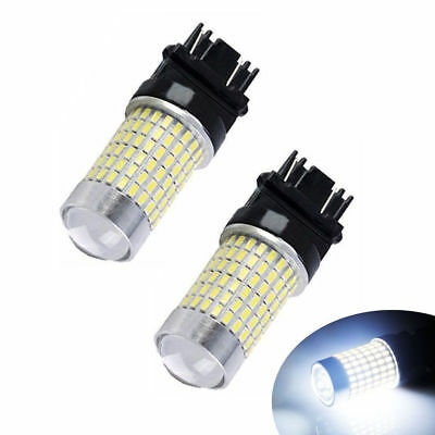 AUTOLIZER 144SMD 3157 3156 White LED Turn Signal Brake Tail Parking Backup Light