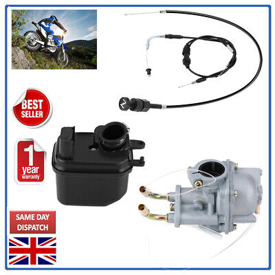 SUPER CARBURETOR CARBAIR FILTER BOXTHROTTLE CABLECHOKE CABLE FOR YA
