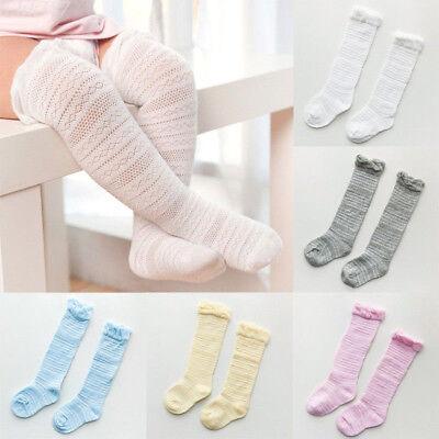 Newborn Baby Toddler Knee High Lace Cute Long Sock Boys Girls Leg Warmers Socks](Toddler Boy Knee High Socks)