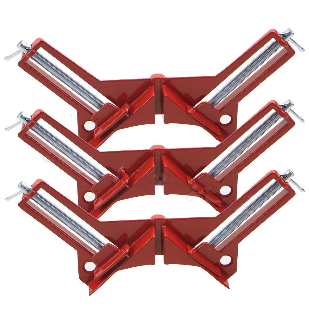 90-GRAD-WINKEL RAHMENWINKEL KLEMME Holzbearbeitung Handwerkzeug-Kit ...