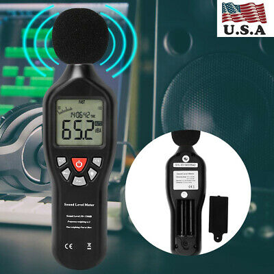Professional Usb Sound Level Meter Data Logger Noise Audio Tester 30db-130db