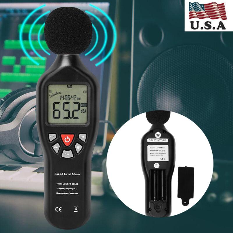 Professional USB Sound Level Meter Data Logger Noise Audio Tester 30dB-130dB