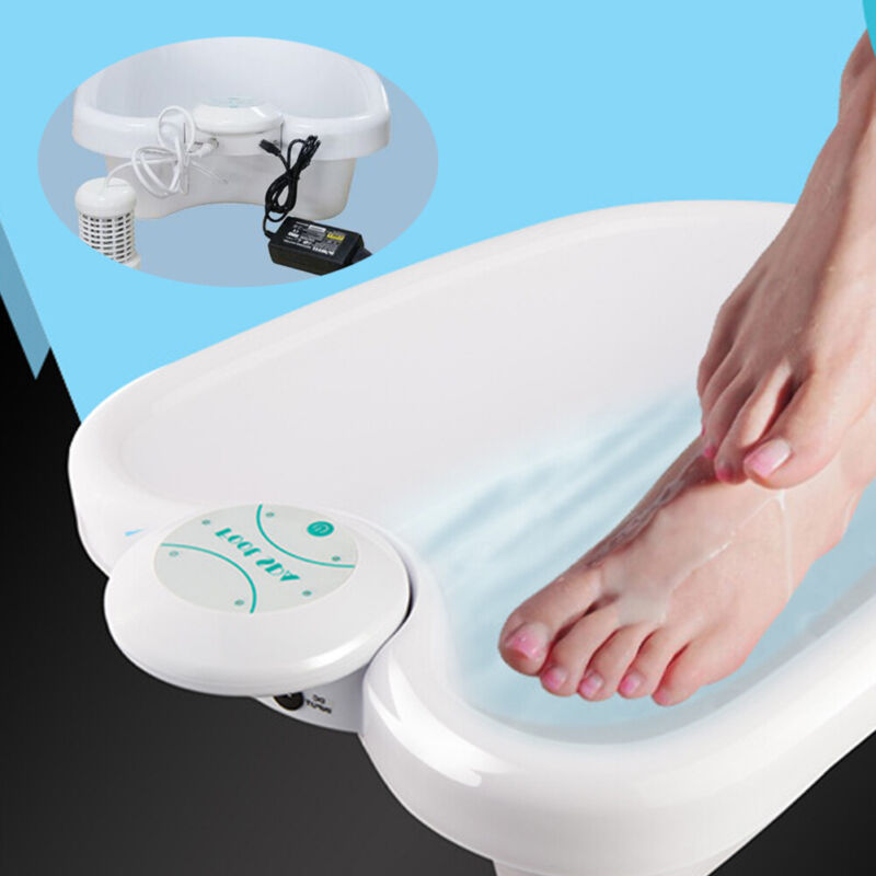 Personal Foot Ionic Detox Bath Machine Spa Basin Health Care Cleanse Array