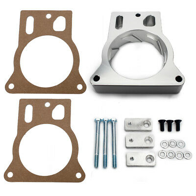 Chevrolet Throttle Body Spacer Kit Fit GM GMC 4.8L 5.3L 6.0L 1999-2007 2002 2003