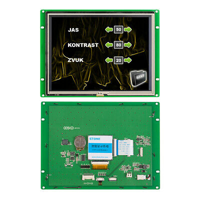 Stone Smart 8 Inch Hmi Tft Lcd Module And Panel Controller With Uart Port