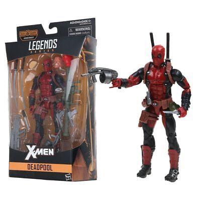 "6"" Deadpool Figure Marvel Legends X-Men PVC Action Figure Brand New in Box"
