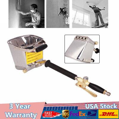 1 X Sprayer Gun Tool For Air Compressorpump Cement Paste Lime Slurry Mortar New