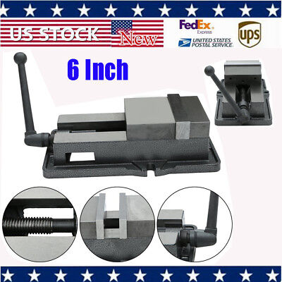 6 Precise Lock Vise Precision Milling Drilling Machine Bench Clamping Vice Df