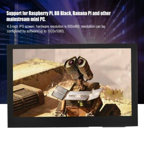 "800x480 4.3"" IPS Display Capacitive Touch Screen HDMI LCD Fo"