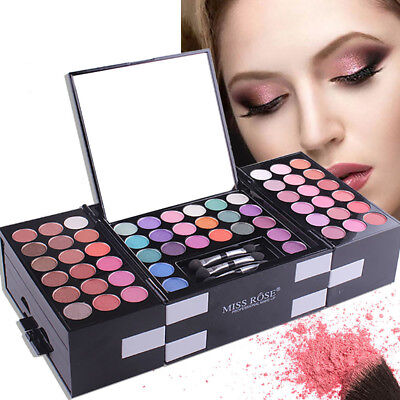 142 Color Pro Eyeshadow Palette Eyebrow Powder Cosmetic Makeup Matte+Shimmer Set