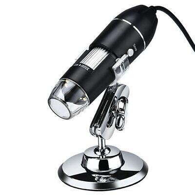 1600x Usb Digital Electronic Microscope Adjustable Magnifier Endoscope Camera
