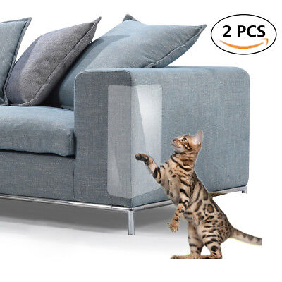 Pet Scratch Couch Protector, Furniture Clear Vinyl Pet Cat Dog Claw Guards