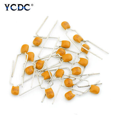 Monolithic Ceramic Chip Capacitors 10pf To 10uf Assortment Kit 50v 20pcsset E9