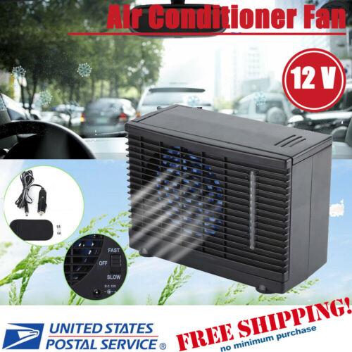 Portable Evaporative Mini 12V Air Conditioner Home Car Water