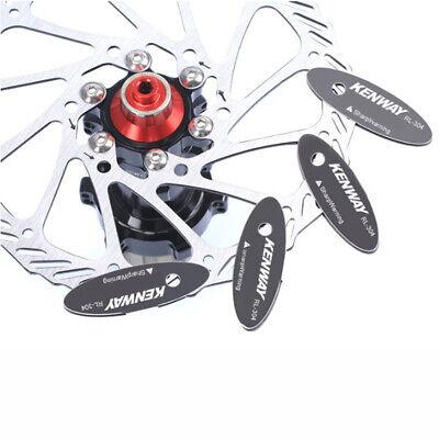 MTB Pastillas Frenos Spacer Ajustador Herramienta Acero Inoxidable Montaje Rotor
