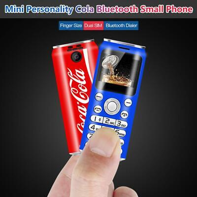 New coke Cola Pepsi mini Plastic mobile phone Unlocked Dialer Dual Sim Camera UK
