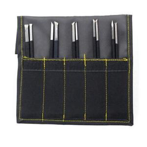 10Pcs Manganese Steel Chisel Set Stone Carving Artist Woodworkers Tools Set  US