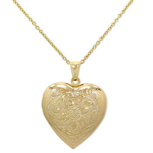 heart necklace locket