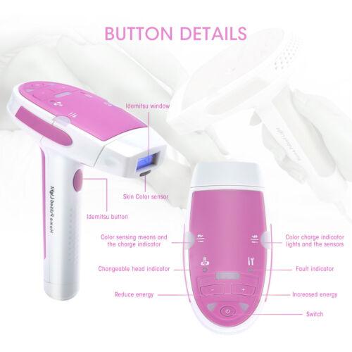 Epilierer Haarentferner Laser HPL Haarentfernungssystem & Verjüngung Rosa DHL DE