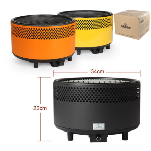 Portable Smokeless Charcoal Electric Barbecue Backyard Grill
