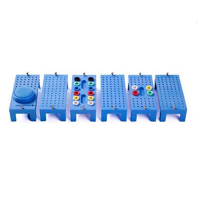 1pc Dental Endo File Bur Block Organizer Sterilization Case Rack Box Easyinsmile