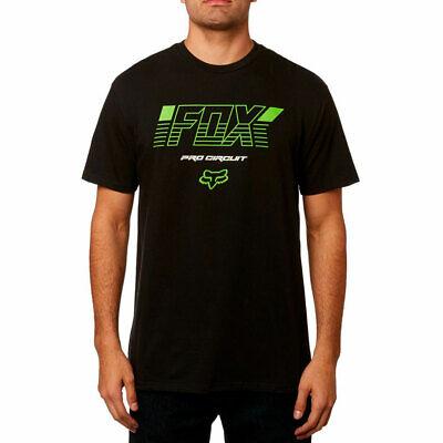 Fox Racing Men's Pro Circuit Short Sleeve T Shirt Black Clot