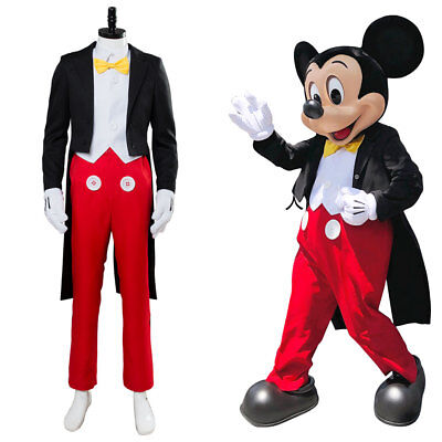 Mickey Mouse Halloween Costumes For Adults (For Mickey Mouse Cosplay Costume Tuxedo Outfit Custom Suit Made)