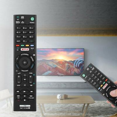 "New Remote RMT-TX100D for SONY BRAVIA KD55X8509C Smart 3D Ultra HD 4k 55"" LED TV"