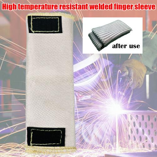 2x Tig Finger Welding Gloves Weld Monger Heat Shield Guard