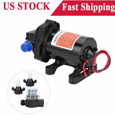 12v 3.5 Gpm Fully Automatic 45psi High Pressure Fresh Water Diaphragm Pump Hot