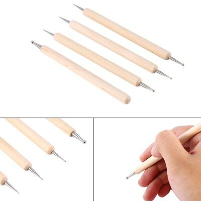 4PCS Ball Stylus Polymer Clay Pottery Ceramics Sculpting Modeling Tools