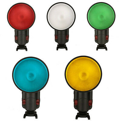 WITSTRO Flash Accessory Color Gel Pack & Reflector Grid